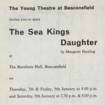 The Sea King's Daughter<br>Jan 1971