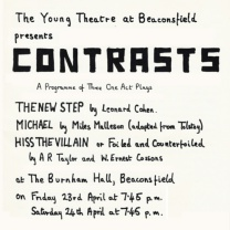 Contrasts<br>Apr 1971