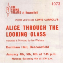 Alice Through the Looking Glass<br>Jan 1973