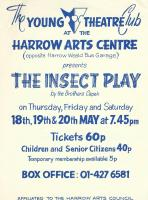 The Insect Play - H<br>May 1978
