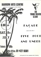 Façade & Five Foot and Under - H<br>Jul 1978