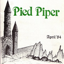 Pied Piper<br />Apr<br />More photos, 02-Nov-2019; Ticket, prog., cover & new format 8-Oct-2017