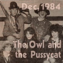 The Owl and the Pussycat Went to See…<br>Dec 1984