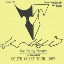 South Coast Tour, 1987<br />Aug<br />4 new photos, captions, press, programme, casts 04 Feb 2018