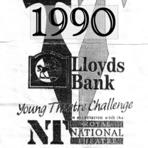 Lloyds Bank Young Theatre Challenge<br>Mch 1990