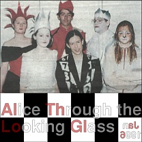 Alice Through The Looking Glass<br />Jan<br />+3 photos, programme cover, replaced press cutting, mobile friendly,11 mar 2018
