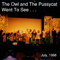 The Owl and the Pussycat Went to See…<br />Jul<br />New, 25 May 2015
