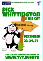 Dick Whittington and His Cat<br />Dec<br />New 6 Jan 2017