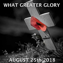 What Greater Glory<br />Aug<br />New, 22-May-2019