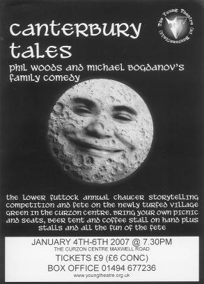 Canterbury Tales Handbill