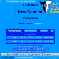 Latest & new content    YTA  Updated 09-09-2017